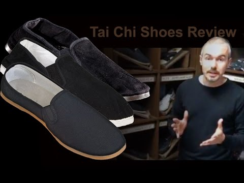 Tai Chi Shoes Review by Neil Kingham at Enso Martial Arts Shop