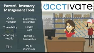 Best Inventory Management Software for QuickBooks - Acctivate