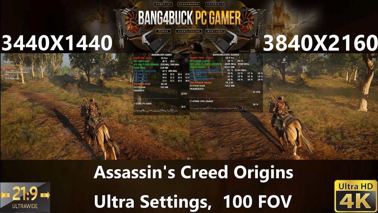 3440x1440 vs 3840x2160 gaming