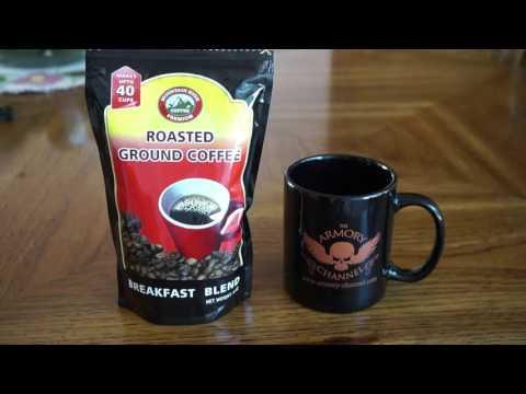 Dollar Tree Coffee? Moutain High Premium Brand. Prepper Café!