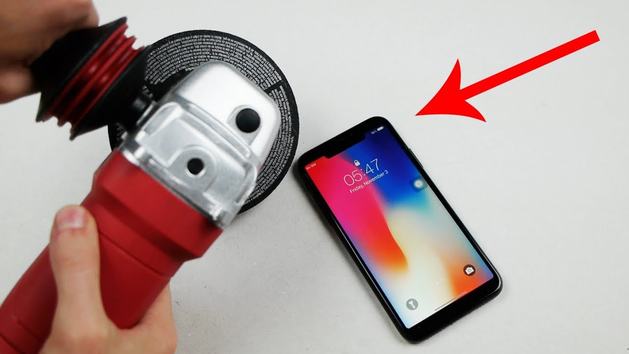How To Remove Annoying iPhone X Notch (Cut Out) - YouTube