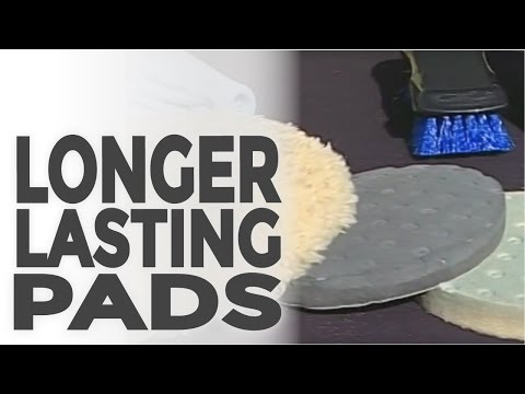 Learn how to properly clean and maintain your buffing pads