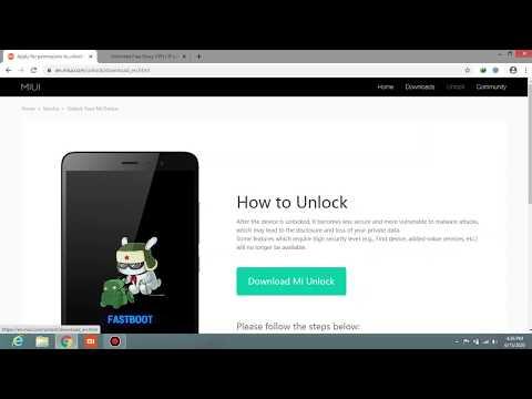 Unlock Bootloader Any Xiaomi Phones 2020 Method.