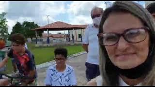 Manoel Gomes Caneta Azul entrega Prêmios do Maracap. Uma SW4 e cheque de 5 mil reais