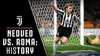 HIStory: PAVEL NEDVED'S BIG GOALS! | ROMA VS. JUVENTUS