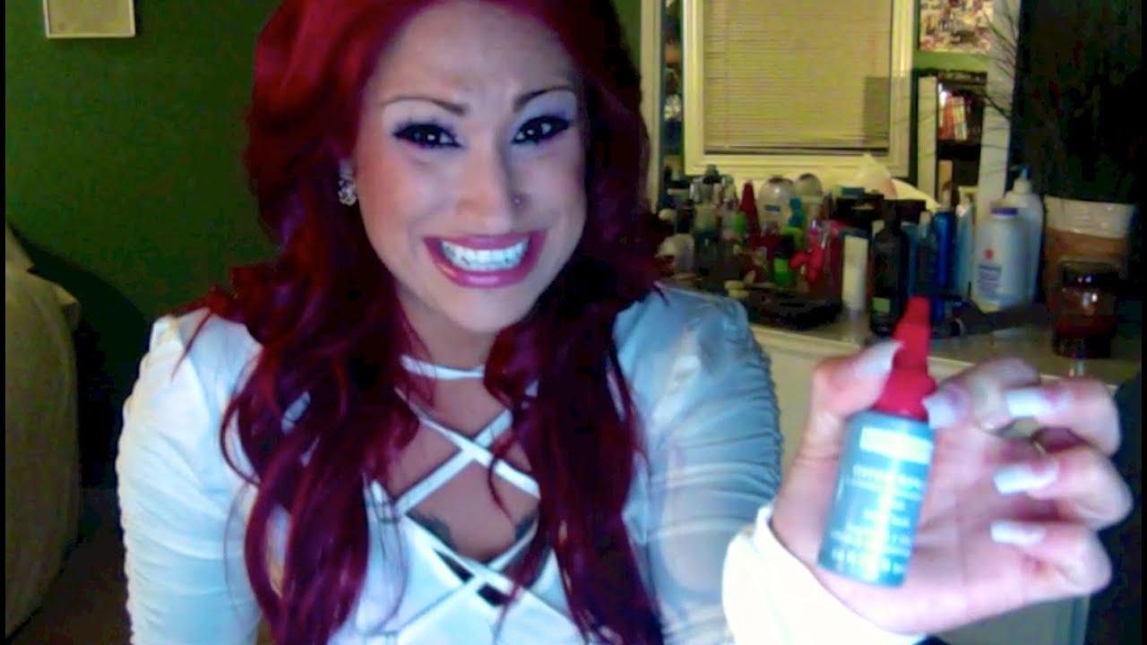 3abf1165670 Magenta Hair and Weave Glue 4 Eyelashes????? - YouTube