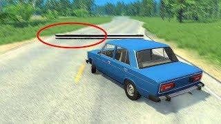 За секунду ДО... Русские дороги.. - BeamNG Drive!