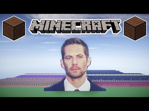 ♪ MINECRAFT See You Again by Wiz Khalifa ft. Charlie Puth [Furious 7] in Note Blocks (Wireless) ♪