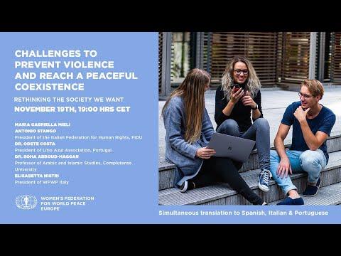 19 Nov 2020 Challenges to prevent Violence ....