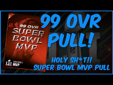 MUT 17 Pack Opening | Holy Sh*t 99 Overall Super Bowl MVP Pull! Mega Super Bowl Pack Opening