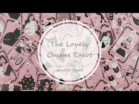 開箱  甜蜜預兆塔羅牌 • The Lovely Omens Tarot // Nanna Tarot