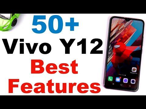 Vivo Y12 50+ Best Features