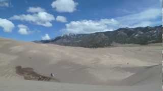 SAND DUNES of Colorado & Music by DOTSERO