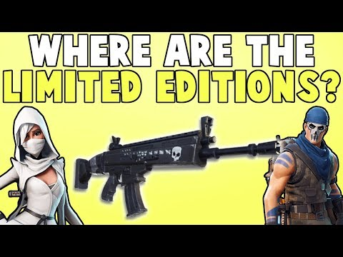 Fortnite: What Happened To The Limited Editions/Founder's Packs?