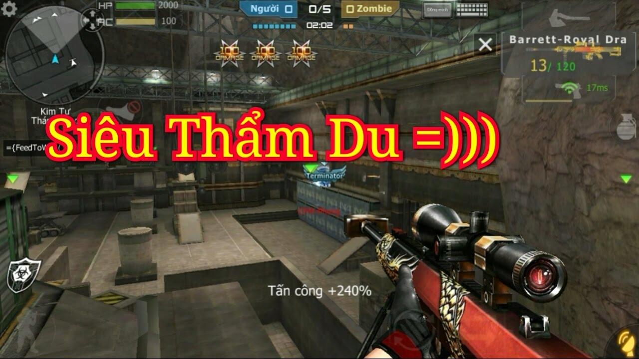 Bình Luận CF Mobile/CF Legends | 3Z - Royal Dragon Thẩm Du Max Ngon !