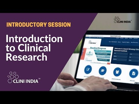 Introduction to Clinical Research- session