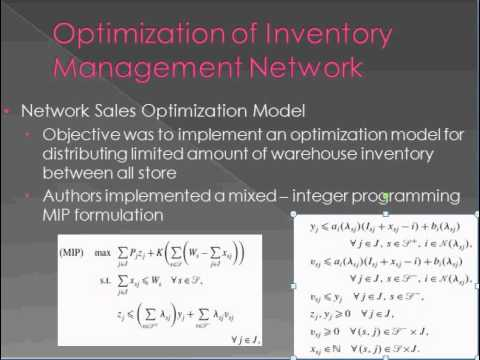Knj research papers on inventory management