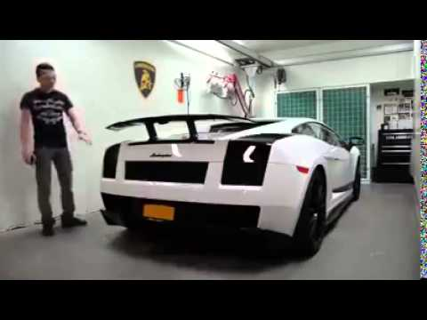 Lamborghini That Changes Colors With A Remote Control Amazing Youtube