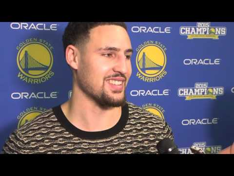Klay Thompson Defends His Choice of Sweater