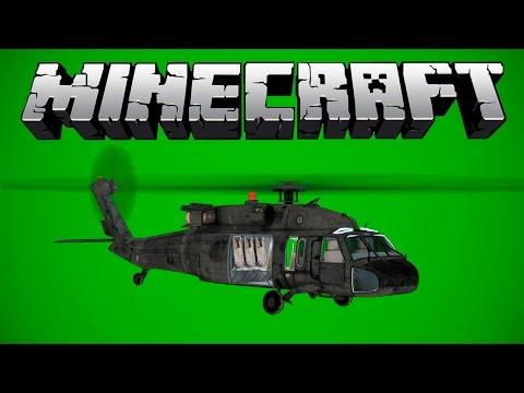Helicóptero / Chroma Key - Minecraft.