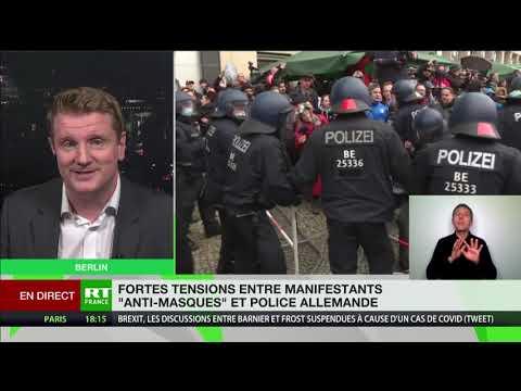 Manifestation «anti-masques» en