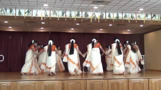 Thiruvathira 2016 Guruvayurappan Temple NJ