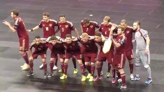 ЕВРО-16. 1/4 финала. Россия - Азербайджан.  6-2