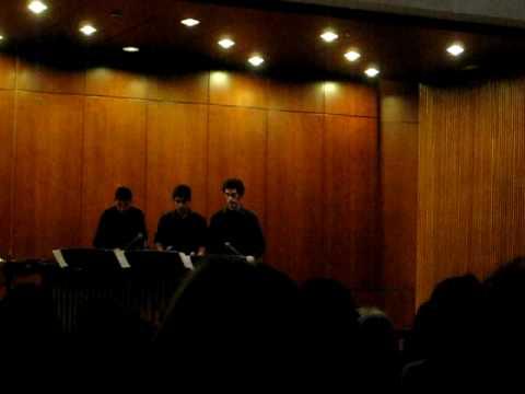 Akadinda- Sejourné performed by  Conservatori Municipal de Música de Barcelona