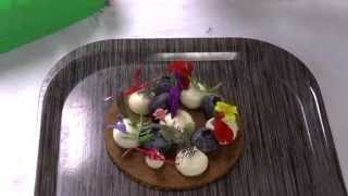 Gert De Mangeleer Presents A Dessert At 3 Michelin Hertog Jan