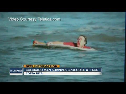 Boulder man fights off crocodile in Costa Rica