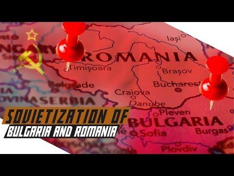 Sovietization of Bulgaria and Romania - Cold War DOCUMENTARY