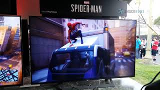 Spider-Man PS4 - Web Swinging Gameplay
