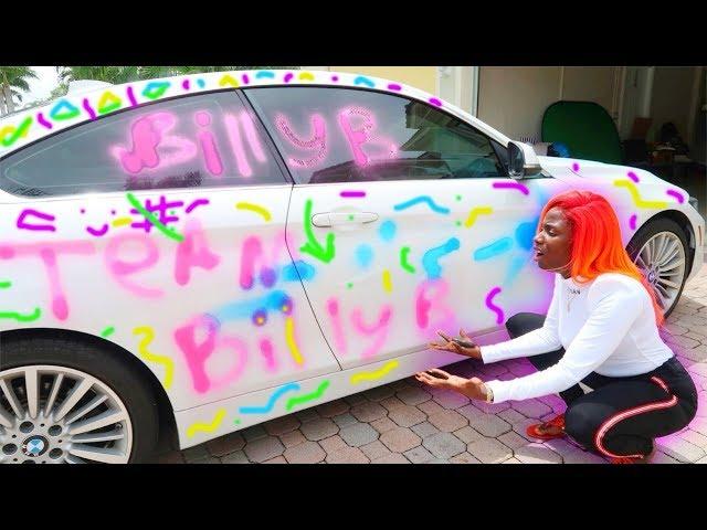 spray-painted-eva-s-brand-new-bmw-prank-gets-extremley-heated