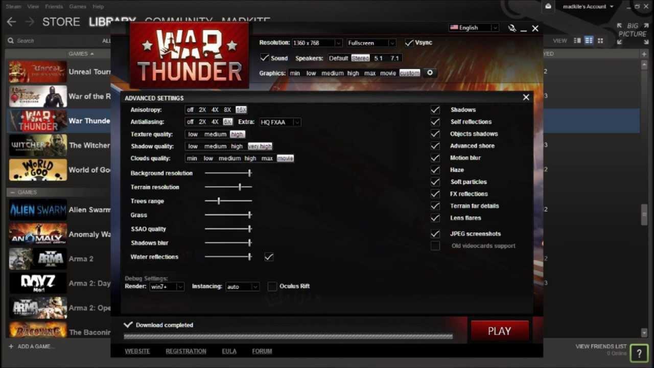 fps war thunder