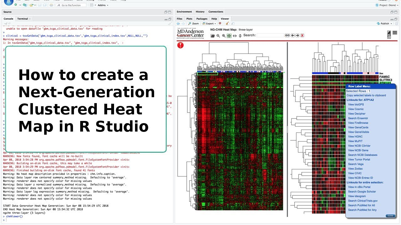 How to create Next-Generation Clustered Heat Maps in R-Studio
