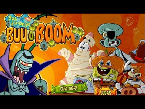 Bombas de Halloween de Bob Esponja GamePlay  Jugando Bombas de