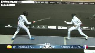 2014 European Fencing Championships Spain vs France