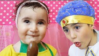 Celina  and Hasouna Party dress  - سيلينا وحسونة للاطفال