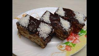 Бесподобно вкусный ТОРТИК БЕЗ ДУХОВКИ  Потрясающе нежный  Cake without baking