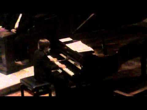 Bach Italian Concerto Movement 1 Edward Tomanek