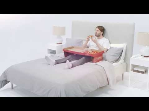 Blake - Pizza Box Designed for Eating in Bed