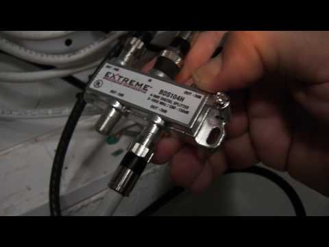 How To Cable TV Self Install ATT Comcast Charter Cable Time Warner Cable video 1