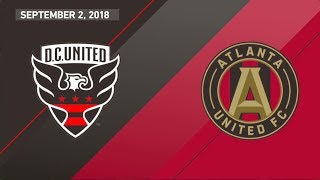 HIGHLIGHTS: Atlanta United vs D.C. United | September 2, 2018