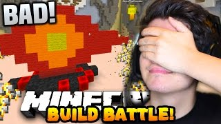 "Minecraft TEAM BUILD BATTLE #2 ""WE ARE THE WORST!!"" w/PrestonPlayz & Choco"