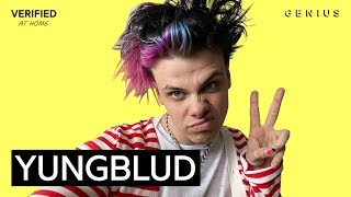 YUNGBLUD Weird! Official Lyrics & Meaning | Verified