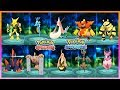 Pokemon OmegaRuby & AlphaSapphire - All Pokemon Trade Evolves From Generation 1-6
