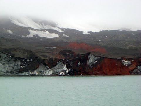 Pendulum Cove, Deception Island, South Shetland Islands, Antarctic Peninsula, Antarctica, South Pole