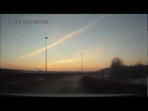 Meteorite hit  Russia - Meteor strike injures hundreds in central Russia
