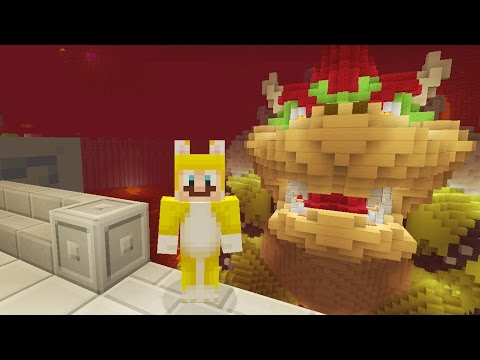 Minecraft: Super Mario Edition - Bowser! {2}