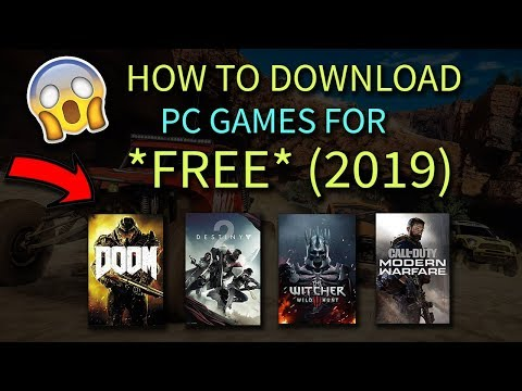 How To Download PC Games For *FREE* (2019)
